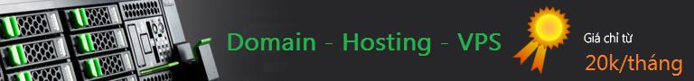 Domain, hosting, vps giá rẻ